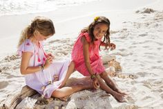 Simple beach cover up dresses by Sunuva girlswear for spring/summer 2015 now available on their website