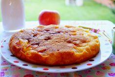 Gâteau à la poêle aux pommes Bowl Cake, Recipe Images, Naan, Homemade Cakes, Smoothie Bowl, Nutella, Fondant, Lemon, Cupcakes