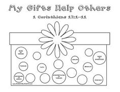 Image result for bible worksheets on spiritual gifts