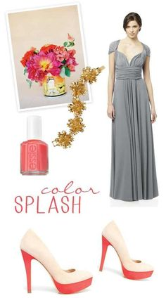 Wedding color option #1