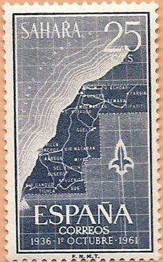 Sáhara Español, 1936 - 1º octubre - 1961 - Portal Fuenterrebollo