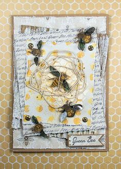 Dovecraft Clear Stamps SPIRAL BUTTERFLY