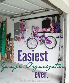 Easiest Garage Organization Ever!