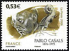 Pablo Casals -  timbre de 2006