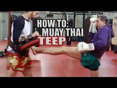 How to Muay Thai Teep - Front Push Kick Shane Fazen | fighttips.com #streetfight #self-defence