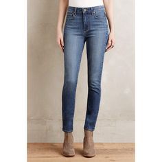 Paige Hoxton Ankle Skinny Jeans ($189) ❤ liked on Polyvore featuring jeans and corbin