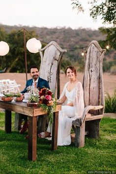 Gorgeous whimsical wedding idea - tall wooden chairs for sweetheart table table with colorful florals and fun lantern lighting {Zelo Photography} Whimsical Wedding, Rustic Wedding, Burgundy Wedding, Fall Wedding, San Diego Resorts, Lantern Lighting, Floral Watercolor, Watercolor Wedding, Wooden Chairs