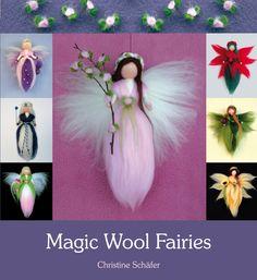 Festive fairy craft book by Christine Schäfer