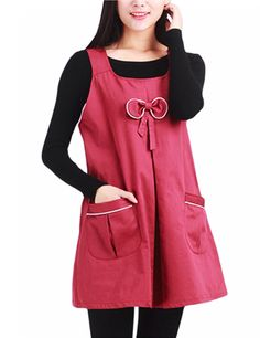 Anti-Radiation Maternity Clothes Top Baby Protection Shield Dresses With Pocket Navy Blue L - Yesfashion.com in Free Shipping