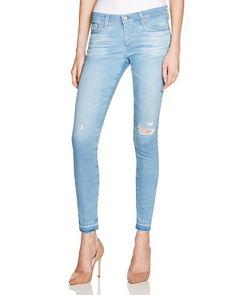 AG Legging Ankle Jeans in 15 Years Poetic Blue | Bloomingdale's