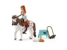 Schleich - 42435 - Horse Club Mia & Spotty #figurine #figurinecheval #schleich #horse #jouet #jeu #enfant #activité #cheval #figurines #figurineschleich #schleichhorse #cadeau #cadeauxnoel #cadeauanniversaire #activitéenfant ##borntobekids