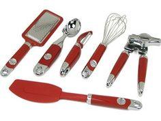 kitchenaid towel sets | kitchen aid red * 36pc * lot utensils set