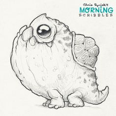 Snaggle Turtpup!  #morningscribbles