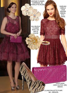 Blair Waldorf Outfits   gossip-girl-blair-waldorf-fashion-lace-dress-waldorf-fashion-show ...