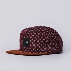 Flatspot - Huf Flower Cord Snapback Cap Wine Get snapback hats from www.hats-cool.com                                                                                                                                                      Más