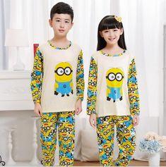 2 4 6 8 10YRS Enfants Garçons Pyjama manches longues pyjamas de détente Nightwear Sets