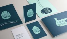 Chipping Norton Physio Branded Cards Design for Print