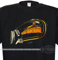 Motorcycles Men's t-shirt  New Imperial Retro mens by retrobel1