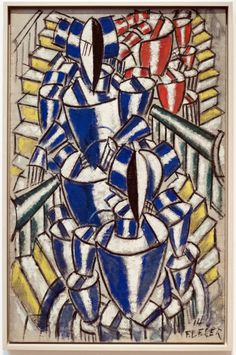 Fernand Léger (1881-1955) L'escalier / The staircase / Trappan Oil on canvas (1914) Moderna Muséet, Stockholm