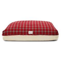 Plaid Serpa Rectangle Bed - Home decor cozy Warm Home Decor, Pop Up Shops, Bed Covers, Dog Bed, Snuggles, Blue Stripes, Cozy, Plaid, Inspiration