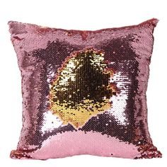 Menglihua Sequins Mermaid Pillowcases Magical Color Changing Reversible Paillette Square Throw Pillow Covers E 40 X Decorative Pillow Cases, Throw Pillow Cases, Pillow Covers, Throw Pillows, Cushion Covers, Sequin Pillow, Mermaid Glitter, Mermaid Sequin, Sequins