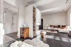Scandinavian loft home