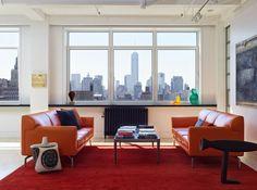 Murphy Burnham & Buttrick Architects, New York Loft living room | Remodelista
