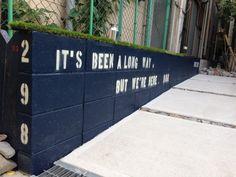 今日は庭のアイデアをご紹介。 庭はアイデアやアレンジ次第で、 誰にでも楽しむことができます。 ブロック塀をペン…