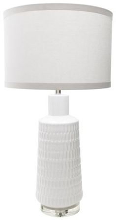 This Mcrae Table Lamp By Surya Will Bring A Crisp,. Living SpacesTable Lamps Cleanses