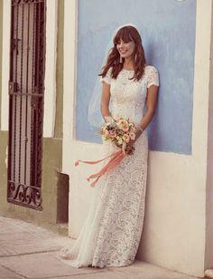 Tendance Robe du mariée 2017/2018  David's Bridal Galina Collection