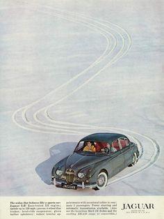1961 Jaguar Mark 2 Ad Jaguar Type, Jaguar Cars, Car Advertising, E Type, Sport, Amazing Cars, Vintage Ads, Cars And Motorcycles, Cool Cars