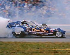 """Blue Max"" Raymond Beadles' Top Fuel Funny Car"