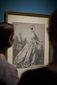 Antoine Watteau on show at Städel Museum (19 October 2016 until 15 January 2017). fig.: Exhibition view 'Watteau. The Draughtsman', Städel Museum (19 October 2016 until 15 January 2017). Photo: Städel Museum.  ...his spontaneous sketches of everyday life in public spaces such as realistic pictures of street performers and merchants in Paris. The red, white and black chalk ('three-chalk' technique) drawings were used by Antoine Watteau for pre-studies of his paintings....