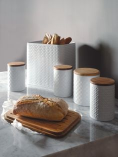 Typhoon Imprima Tea, Coffee and Sugar Canister Set | very.co.uk
