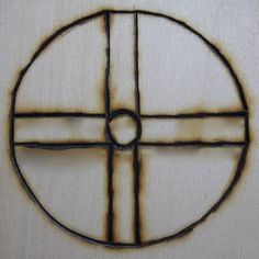 The Solar #Cross symbol is a variation on the popular four-armed cross. It represents not only the sun, but also the cyclical nature of the four seasons and the four classical elements. It is often used as an astrological representation of earth.