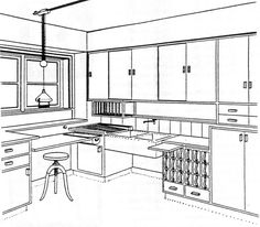 Frankfurt Kitchen by Margarete Schütte-Lihotzky