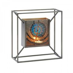 Mosaic Blue Accent Wall Sconce