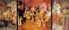 I dorati anni '20 visti da Otto Dix. #ottodix #paint #art #NeueSachlichkeit #jazz #orchestra