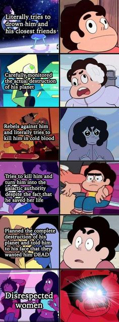 Priorities | Steven Universe | Know Your Meme