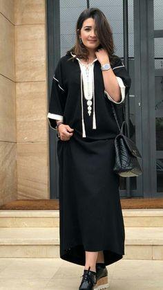 Mode Abaya, Mode Hijab, Traditional Fashion, Traditional Outfits, Abaya Fashion, Fashion Outfits, Womens Fashion, Morrocan Kaftan, Fashion Beauty