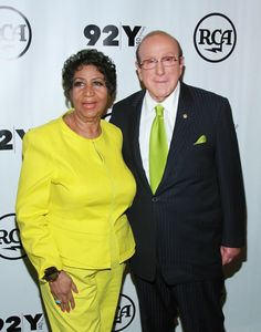 R.E.S.P.E.C.T. the legends. Aretha Franklin and Clive Davis attend 92nd Street Y Presents An Evening With Aretha Franklin, Clive Davis and Anthony DeCurtis  on Oct. 1 in New York