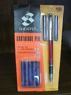 Schaeffer Cartridge Pen