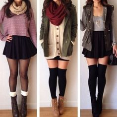 Found this pic online. I dont remember where but I love these outfits would love to try to create my own versions
