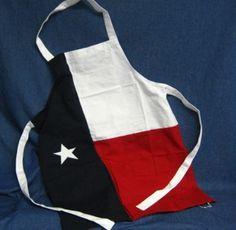 Texas Lone Star Flag Apron