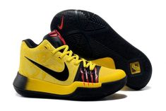 e2fdacfd79cc Kyrie Sneakers Nike Kyrie 3 Yellow Black Pink For Sale