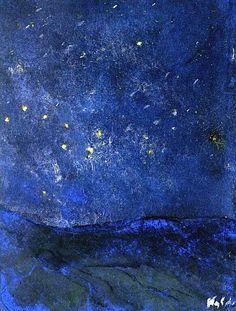 Emil Nolde - Starry Sky