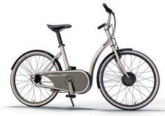 Le concept de vélo à assistance électrique Urbi, par Thomas Samson /// Urbi electric bicycle concept designed by Thomas Samson