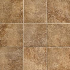 "Marazzi Forest Impressions 18"" x 18"" Porcelain Field Tile in Noce"