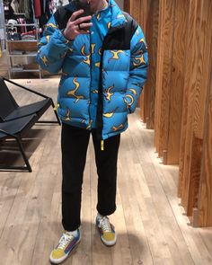 GOLF WANG Flame Button-Up X Puffer Jacket    Tyler, The Creator x VANS Old Skool Pro