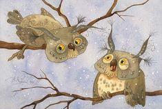 Да что вы говорите? (Виктория Кирдий) Bird Art, Watercolor, Moose Art, Victoria, Animals, To Draw, Pen And Wash, Watercolor Painting, Animales